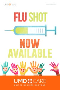 UMD Urgent Care Flu Shot
